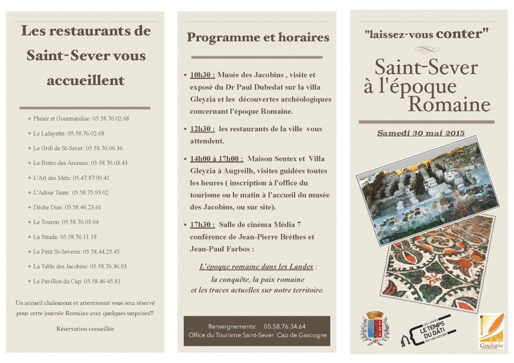Journée St Sever à l'époque Romaine_Page_1